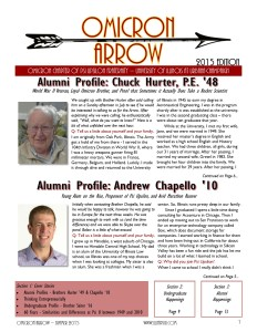 Arrow 2015FrontPage